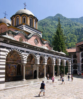 From Sofia Airport To Rila Monastery